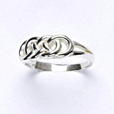 Stříbrný prsten, nekonečno, prstýnek ze stříbra, T 277