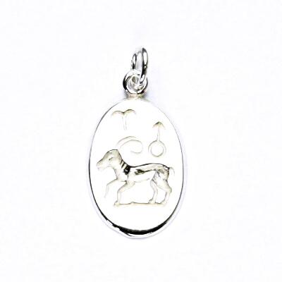 Stříbrný přívěšek,znamení zvěrokruhu,beran,přívěsek ze stříbra, P 902