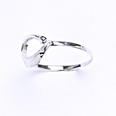 Stříbrný prsten, šperk T 814