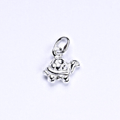 Stříbrný přívěšek, přívěšek ze stříbra, želva, P 924