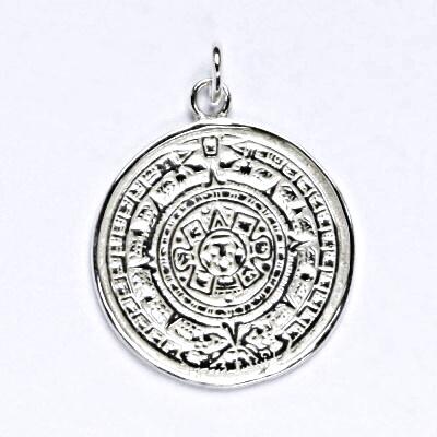 Stříbrný přívěsek, pentagram, přívěsek ze stříbra, P 103
