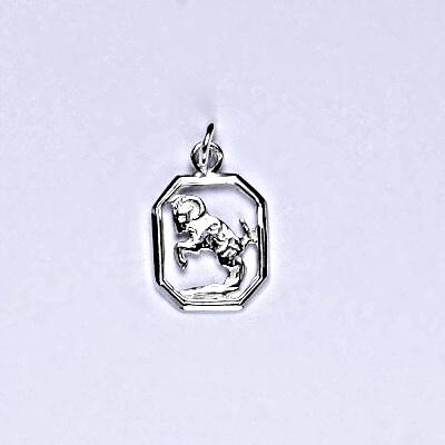 Stříbrný přívěsek znamení zvěrokruhu beran, váha 0,44 g, P 127