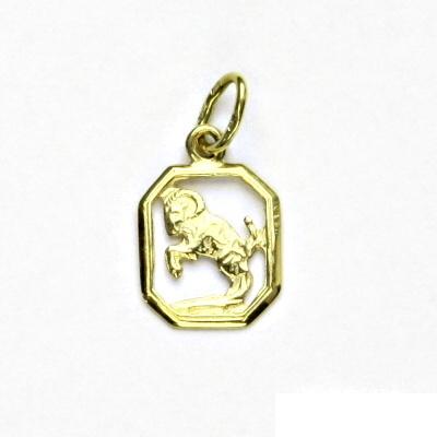 Zlatý přívěsek, žluté zlato, beran, znamení zvěrokruhu, přívěšek, P 127