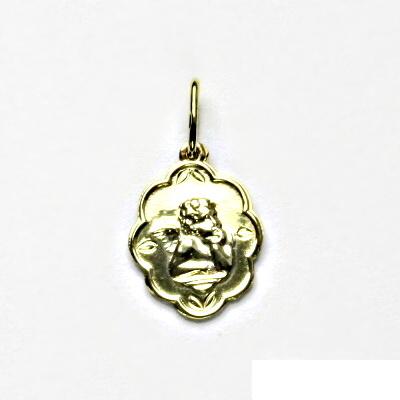 Zlatý přívěsek, žluté zlato, andělíček, přívěšek ze zlata, 1,07 g