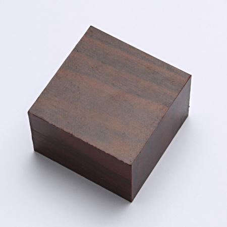 Krabička na šperky, prsten, náušnice, imitace dřeva