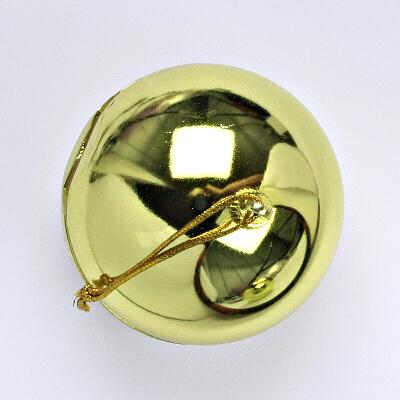 Plastová krabička, zlatá koule, FU-08/AU