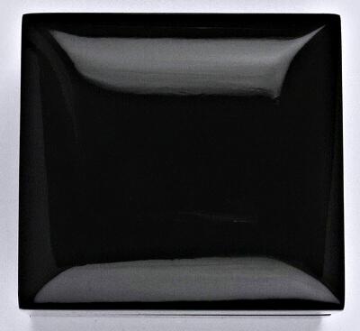 Krabička dřevěná na snubní prsteny, černá 1