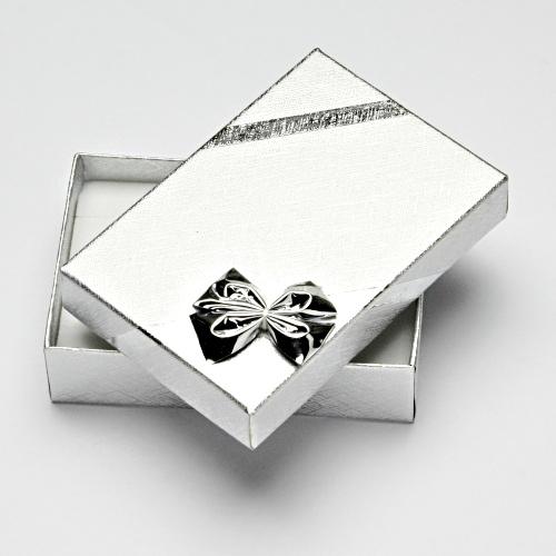 krabička na šperky souprava řetízek, naušnice, prsten