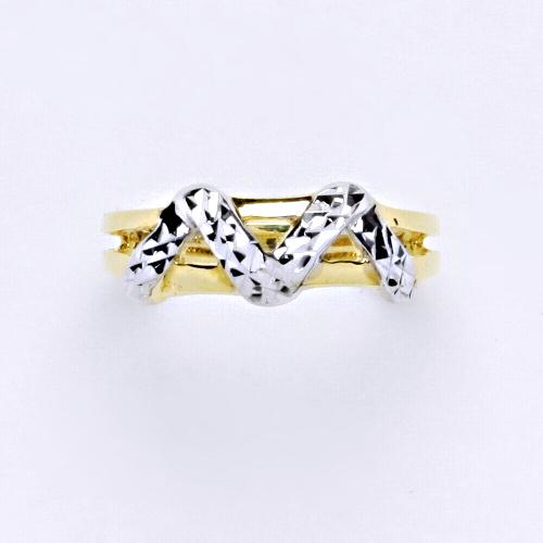 Zlatý prsten 2,90 g žluté zlato 14 karátů