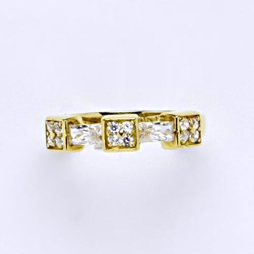 Zlatý prsten 3,50 g žluté zlato 14 karátů