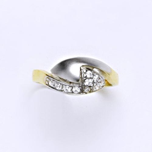Zlatý prsten 3,11 g žluté zlato 14 karátů