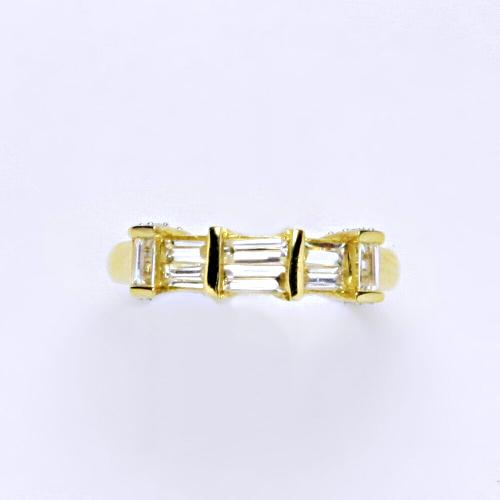 Zlatý prsten 2,41 g žluté zlato 14 karátů
