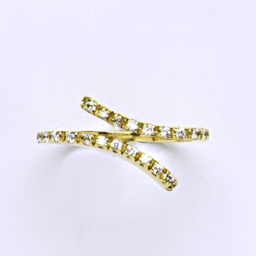 Zlatý prsten 3,60 g žluté zlato 14 karátů