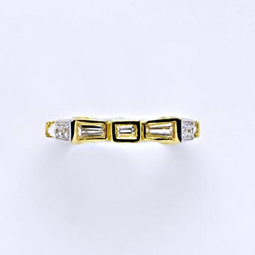 Zlatý prsten 2,36 g žluté zlato 14 karátů