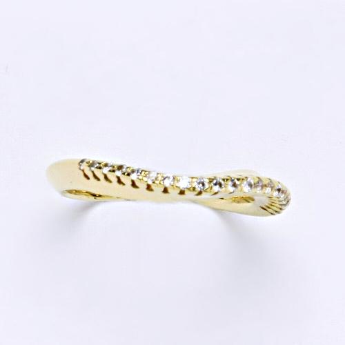 Zlatý prsten 3,57g žluté zlato 14 karátů