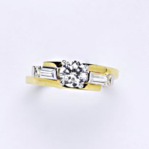 Zlatý prsten 3,30 g žluté zlato 14 karátů