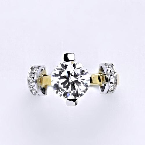 Zlatý prsten 4,63 g žluté zlato 14 karátů