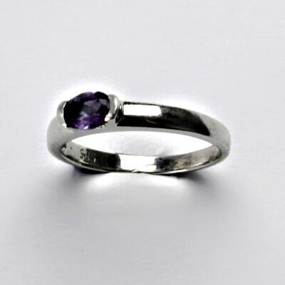 Zlatý prsten, prstýnek ze zlata, bílé zlato,2,26 g, vel. 52